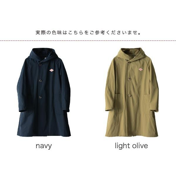 ダントン DANTON DOUBLE CLOTH COAT ラグランスリーブ フードコート ・JD-8849PDF|crouka|15
