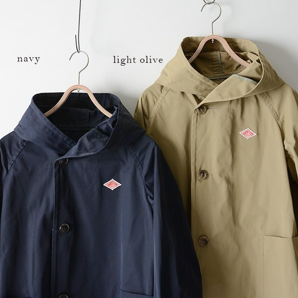 ダントン DANTON DOUBLE CLOTH COAT ラグランスリーブ フードコート ・JD-8849PDF|crouka|03
