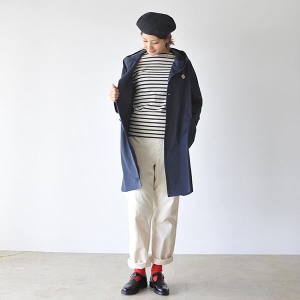 ダントン DANTON DOUBLE CLOTH COAT ラグランスリーブ フードコート ・JD-8849PDF|crouka|04
