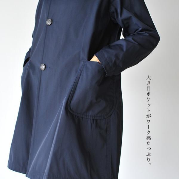 ダントン DANTON DOUBLE CLOTH COAT ラグランスリーブ フードコート ・JD-8849PDF|crouka|07