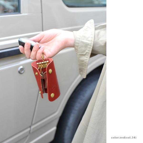イルビゾンテ IL BISONTE スナップボタン 3つ折り キーケース ・5412305250【クーポン対象外】|crouka|03