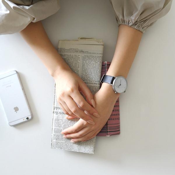 インストゥルメント INSTRMNT レザーストラップ リストウォッチ アナログ腕時計・2980 (ユニセックス)|crouka|04