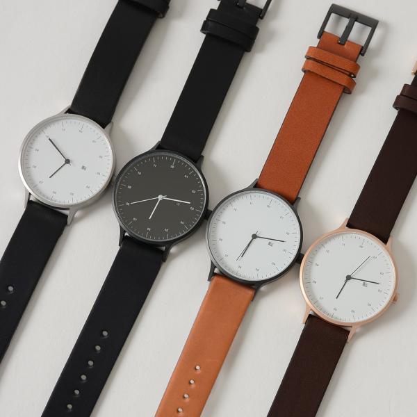 インストゥルメント INSTRMNT レザーストラップ リストウォッチ アナログ腕時計・2980 (ユニセックス)|crouka|05