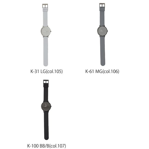プレミアム会員P10倍 インストゥルメント INSTRMNT レザー・ラバー・ストラップ リストウォッチ アナログ腕時計 ・ 3280|crouka|12