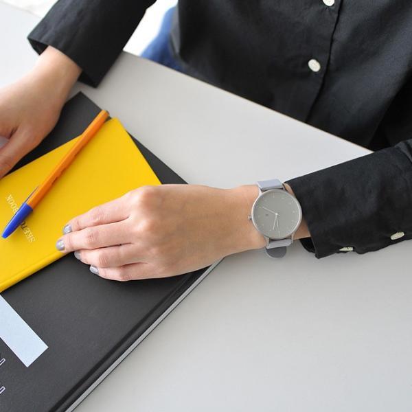 プレミアム会員P10倍 インストゥルメント INSTRMNT レザー・ラバー・ストラップ リストウォッチ アナログ腕時計 ・ 3280|crouka|05