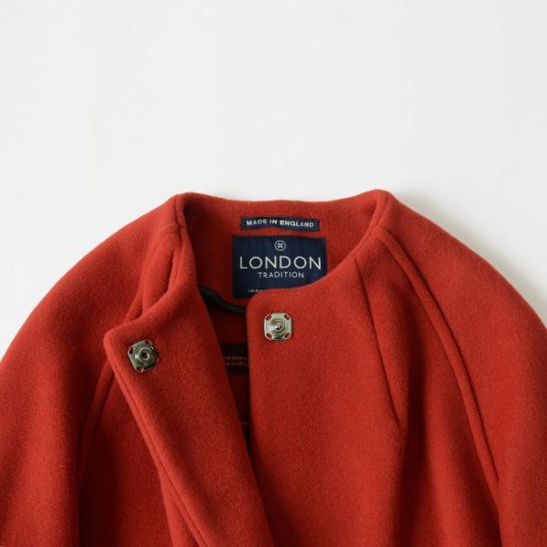 LONDON TRADITION ロンドントラディション ノーカーラー コート ・R-02|crouka|10