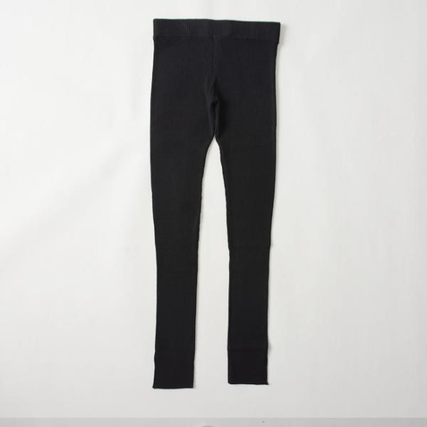 マルシャル テル MARECHAL TERRE Rib leggings リブレギンス ニット レギンス パンツ ・ZMT191KN724|crouka|06