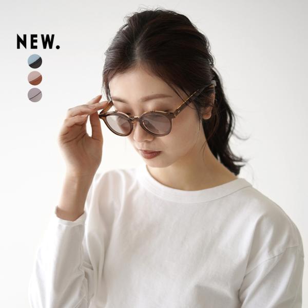 ニュー New. ビックフォーズ BICKFORD'S ボストン型 サングラス メガネ 伊達メガネ 眼鏡 カラーレンズ レディース メンズ