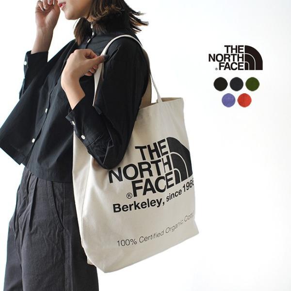 ザ ノースフェイス THE NORTH FACE TNF ORGANIC COTTON TOTE ロゴ トートバッグ エコバッグ・nm81616 (ユニセックス)メール便可 crouka