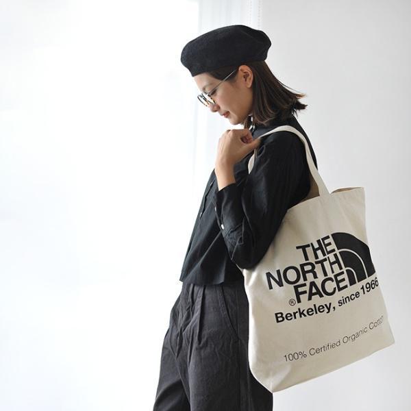 ザ ノースフェイス THE NORTH FACE TNF ORGANIC COTTON TOTE ロゴ トートバッグ エコバッグ・nm81616 (ユニセックス)メール便可 crouka 03