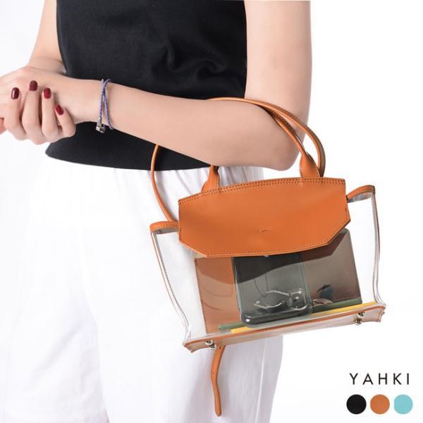 ヤーキ YAHKI ビニールレザー フラップ ショルダーバッグ ハンドバッグ ・YH-238(50%off)(セール品、返品交換不可)|crouka