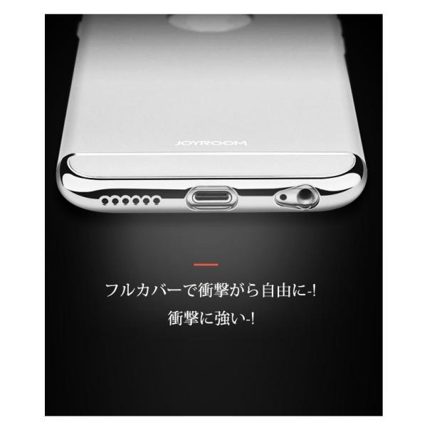 iPhone6s ガラスフィルム 付き iPhone6 ケース カバー iPhone X 10 6s Plus 耐衝撃 アイフォン スマホケース おしゃれ 携帯カバー  3in1slimmat Silver|crown-shop|05