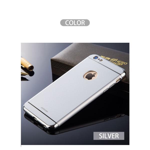 iPhone6s ガラスフィルム 付き iPhone6 ケース カバー iPhone X 10 6s Plus 耐衝撃 アイフォン スマホケース おしゃれ 携帯カバー  3in1slimmat Silver|crown-shop|07