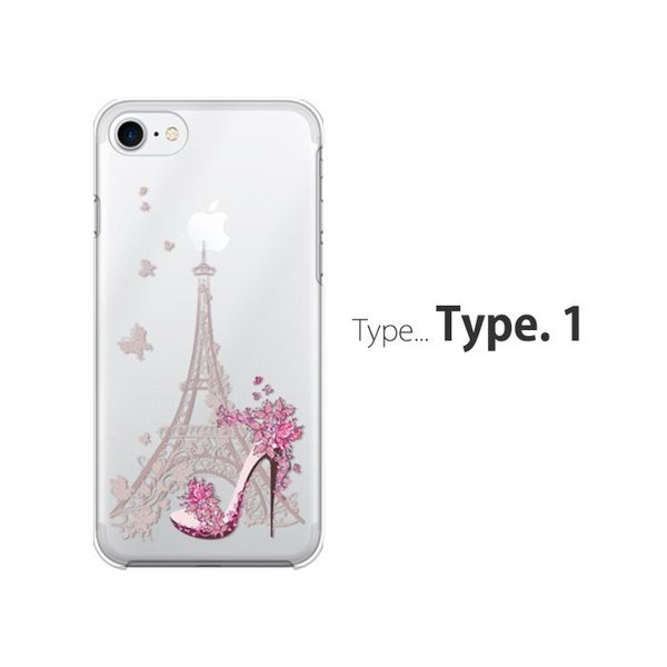 iPhone7 ケース スマホ カバー 保護フィルム付き iPhone11 Pro Max iPhoneXs iPhoneXr iPhone8 iPhone6s Plus i耐衝撃 おしゃれ フィルム eifel|crown-shop|02
