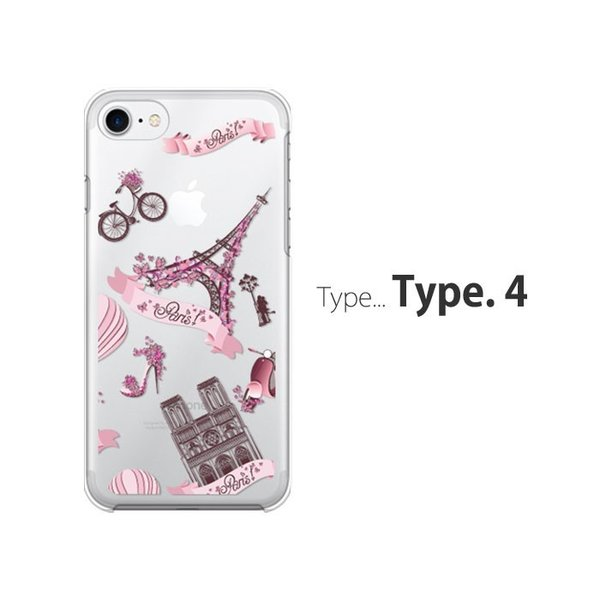 iPhone7 ケース スマホ カバー 保護フィルム付き iPhone11 Pro Max iPhoneXs iPhoneXr iPhone8 iPhone6s Plus i耐衝撃 おしゃれ フィルム eifel|crown-shop|05