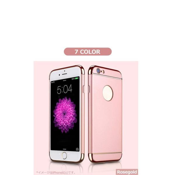 iPhone8 ケース カバー ガラスフィルム付き iPhoneXr iPhoneXs Max iPhoneX おしゃれ iPhone7 iPhone 6s 6 Plus 耐衝撃 アイフォン8 アイホン8 3in1slimmat|crown-shop|08