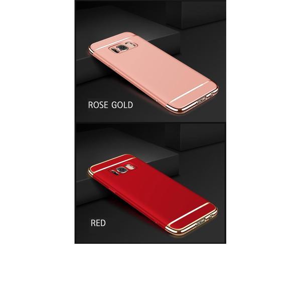scv36 フル 保護フィルム 付き au Galaxy S8 SCV36 ケース カバー SC-02J sc02j 耐衝撃 S8+ SCV35  SC-03J sc03j ギャラクシーS8 3in1slimmat Red crown-shop 09