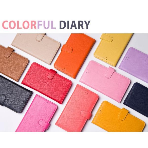 iPhone8Plus ケース 手帳型 カバー ガラスフィルム 付き アイフォン8プラス 手帳 手帳型ケース 耐衝撃 おしゃれ ブランド アイホン8プラス COLORFUL|crown-shop|05
