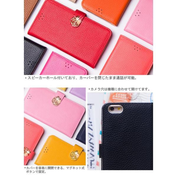 iPhone8Plus ケース 手帳型 カバー ガラスフィルム 付き アイフォン8プラス 手帳 手帳型ケース 耐衝撃 おしゃれ ブランド アイホン8プラス COLORROSE crown-shop 02