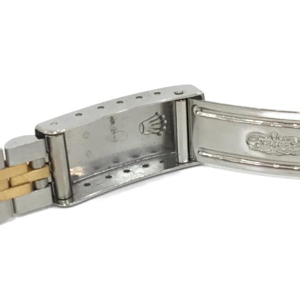 ロレックス デイトジャスト レディース腕時計/レディース ステンレススチール(SS)×K18YG(750) イエローゴールド 69173 ランクA|cruru|09