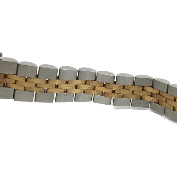 ロレックス デイトジャスト レディース腕時計/レディース ステンレススチール(SS)×K18YG(750) イエローゴールド 69173 ランクA|cruru|10