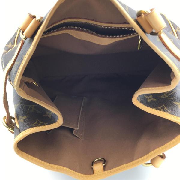 ルイ・ヴィトン バティニョール・ヴェルティカル トートバッグ 茶系 モノグラム M51153 ランクB|cruru|13