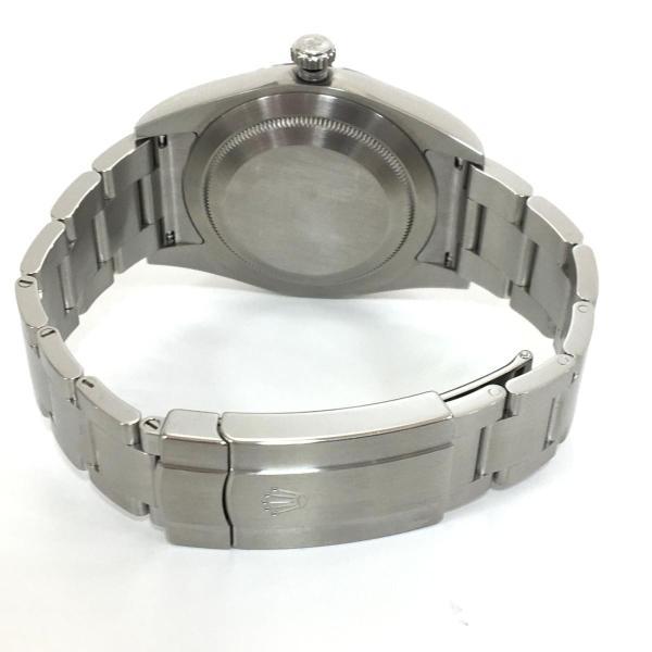 【特価商品】ロレックス オイスター パーペチュアル メンズ 腕時計 ウォッチ 青系ブルー系 ステンレススチール(SS) 114300 ランクA|cruru|05