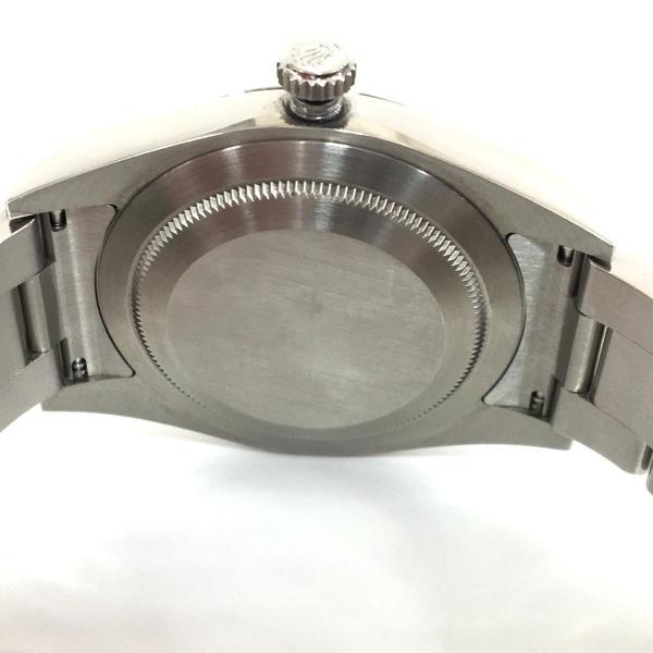 【特価商品】ロレックス オイスター パーペチュアル メンズ 腕時計 ウォッチ 青系ブルー系 ステンレススチール(SS) 114300 ランクA|cruru|06