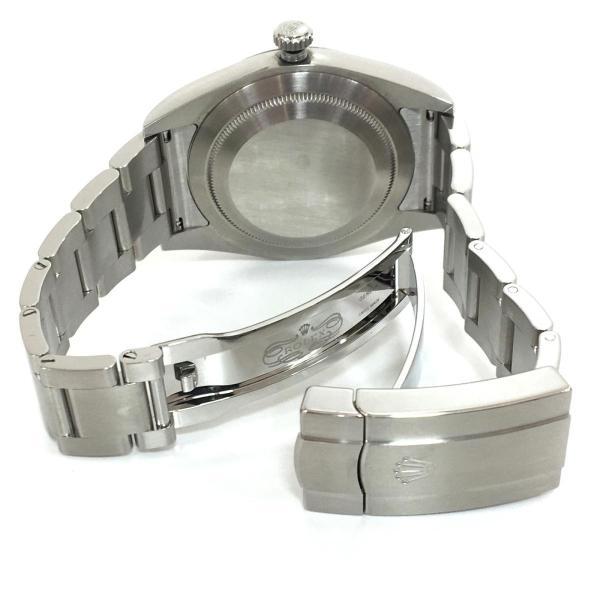 【特価商品】ロレックス オイスター パーペチュアル メンズ 腕時計 ウォッチ 青系ブルー系 ステンレススチール(SS) 114300 ランクA|cruru|07