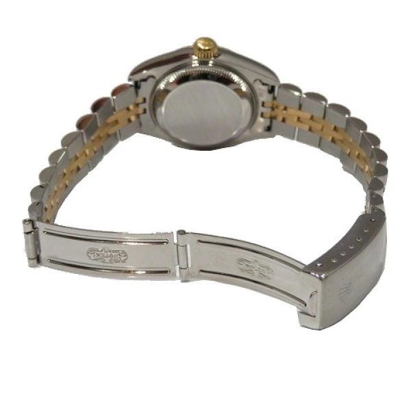 ロレックス デイトジャスト ウォッチ 腕時計 白系 K18YG(750)イエローゴールド×ステンレススチール×ダイヤモンド 69173G ランクA cruru 06
