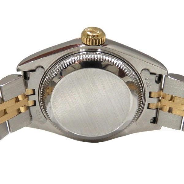 ロレックス デイトジャスト ウォッチ 腕時計 白系 K18YG(750)イエローゴールド×ステンレススチール×ダイヤモンド 69173G ランクA cruru 07