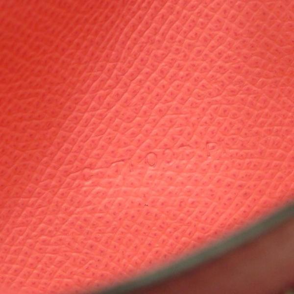 エルメス ベアンスフレ ウォレット 二つ折り長財布 長財布 赤系ローズアザレ ヴォー・エプソン  ランクB|cruru|09