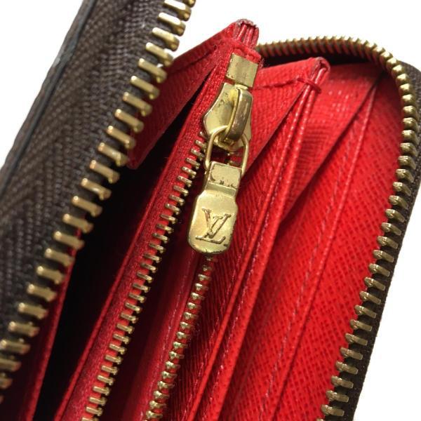 ルイ・ヴィトン ジッピー・ウォレット ラウンド長財布 長財布 茶系 モノグラム M41896 ランクA cruru 12