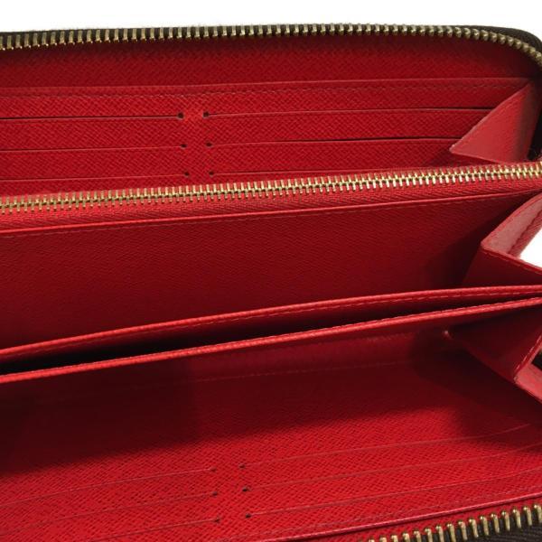 ルイ・ヴィトン ジッピー・ウォレット ラウンド長財布 長財布 茶系 モノグラム M41896 ランクA cruru 05