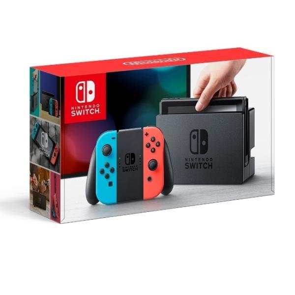 即納 新品 Nintendo Switch Joy-Con(L) ネオンブルー/(R) ネオンレッド (スイッチ 本体)