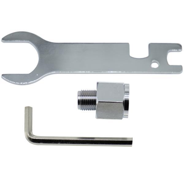 大型ボンベ用アダプター (CO2レギュレーター[SS-1GR01 / SS-2GR01] 消耗品・交換パーツ)