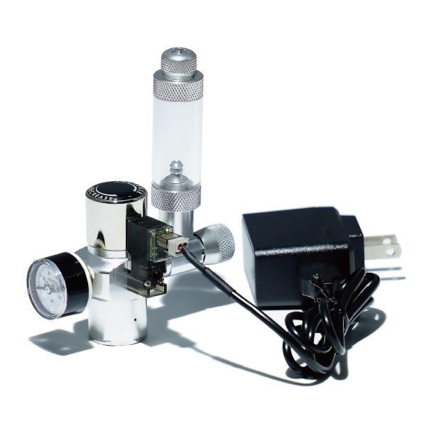 CO2レギュレーターシンプルタイプ SS-1GR01 / スピードコントローラー・電磁弁一体型 / 小型CO2ボンベ用