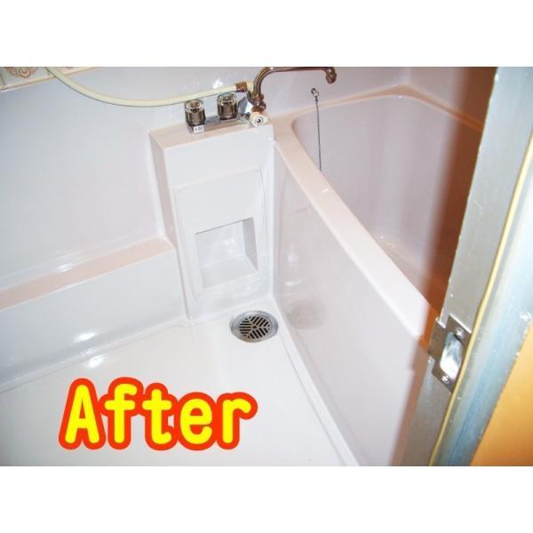 浴室修復塗料 バスロン バスタブと床パン用 スプレー専用 選べる10色|crystalfiber|05