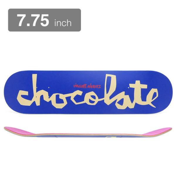 CHOCOLATE DECK チョコレート デッキ VINCENT ALVAREZ OG CHUNK 21SU 7.75 スケートボード スケボー