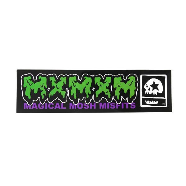 MAGICAL MOSH MISFITS STICKER マジカルモッシュミスフィッツ ステッカー MAGICAL MOSH MISFITS DOKU スケートボード スケボー