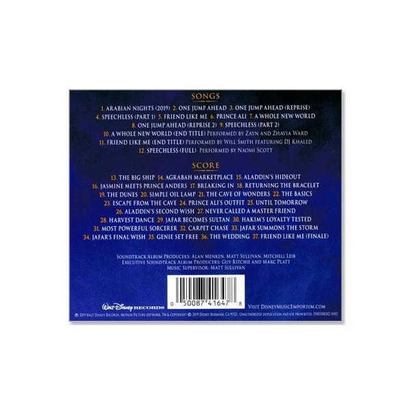 O.S.T: Disney  ALADDIN アラジン / サウンドトラック サントラ【輸入盤】(CD)|csc-online-store|03