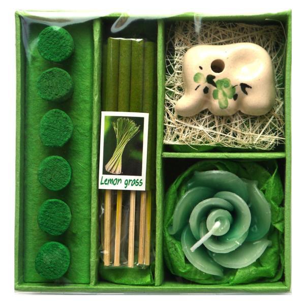 アロマギフトBOX  / 退職ギフトお返しプチギフト アロマキャンドルと2種類のお香が入ったギフトボックス アロマグッズのセット 7色から選べます!|csselect|07