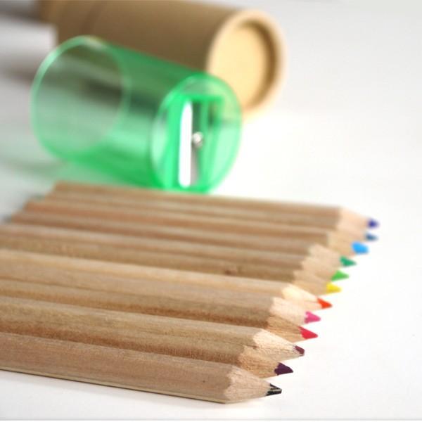 色鉛筆ギフトセット12本 鉛筆削りつき / お返しギフト・イベント・セミナー・開店の記念品、退職・結婚式プチギフトに|csselect|03