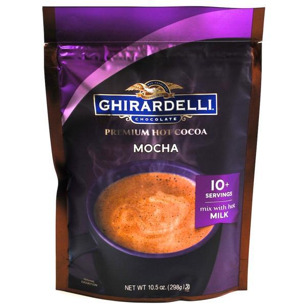 ギラデリ プレミアム ココア モカ Ghirardelli Premium Cocoa Mocha 10.5oz 298g
