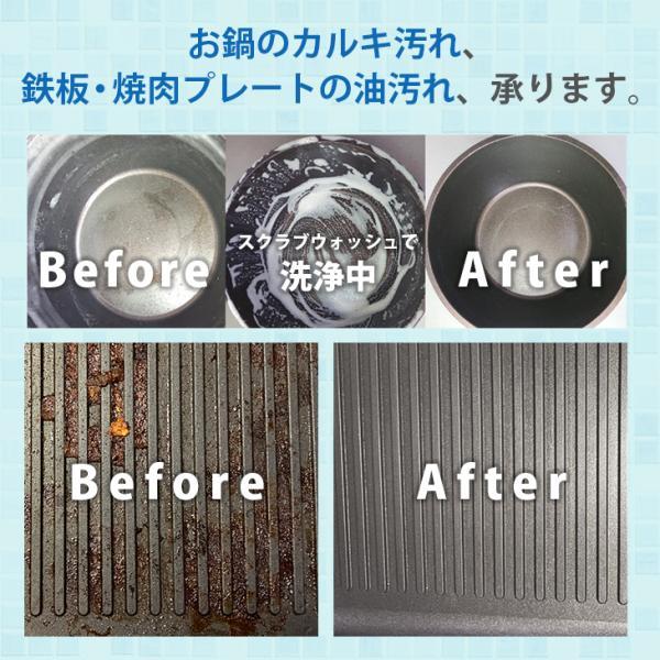 不織布スポンジプレゼント SCRUB WASH 100ml PLARTA120ml 掃除 セット コーティング マルチクリーナー 送料無料|cubic-square|09