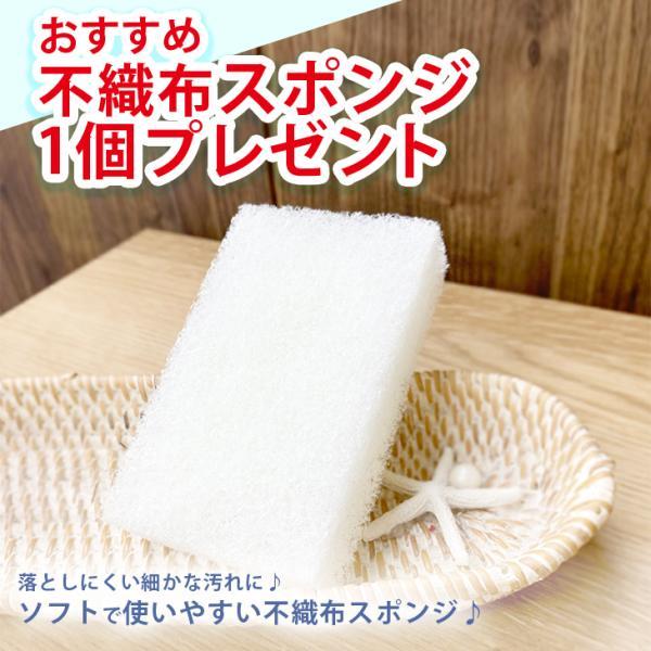 不織布スポンジプレゼント SCRUB WASH 100ml スクラブウォッシュ マルチクリーナー 掃除 洗剤 汚れ落とし|cubic-square|02
