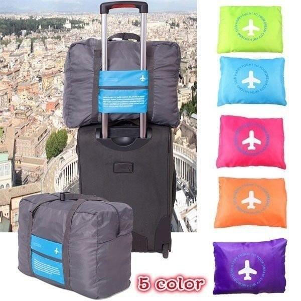 多機能 便利 手提げ袋 携帯用 ナイロン製 ボストンバック 旅行バッグ バック カバン かばん  トラベル用品