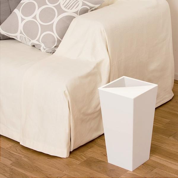 ゴミ箱 おしゃれ ユニード カクス 9L S-36 クッチーナ ゴミ箱 スリム ふた付き 角型 スクエア シンプル ごみ箱 ダストボックス リビング 寝室 cucina-y 02