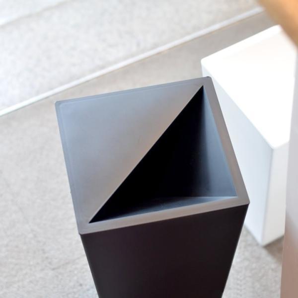 ゴミ箱 おしゃれ ユニード カクス 9L S-36 クッチーナ ゴミ箱 スリム ふた付き 角型 スクエア シンプル ごみ箱 ダストボックス リビング 寝室 cucina-y 03