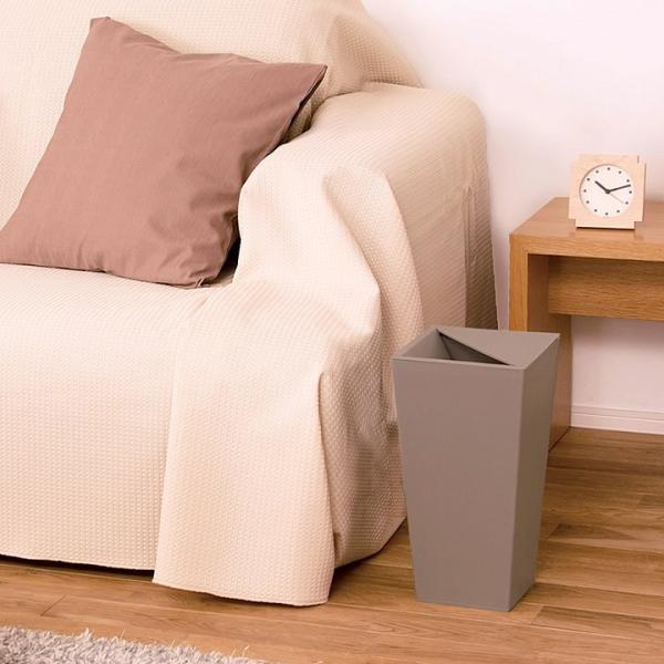ゴミ箱 おしゃれ ユニード カクス 9L S-36 クッチーナ ゴミ箱 スリム ふた付き 角型 スクエア シンプル ごみ箱 ダストボックス リビング 寝室 cucina-y 09